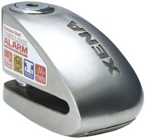 Xena Security Disc Lock Alarm - XX14 Stainless Steel Body & Lid