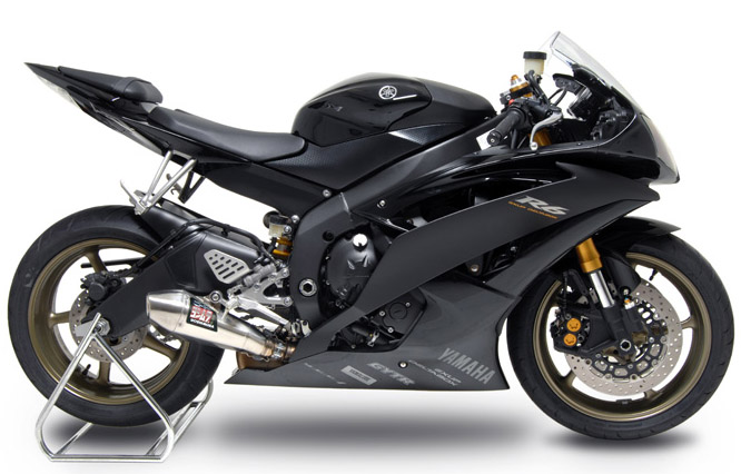 Fs 2006 2010 yamaha r6 yoshimura r55 s o exhaust tampa for Best exhaust system for yamaha r6