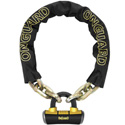 "OnGuard 5' 10"" 14mm Beast Series Chain With 16.8mm Disc Lock"
