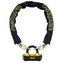OnGuard 6' 10mm Mastiff Series Chain With 14mm Disc Lock
