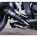 08-16 Honda CBR 1000RR M4 GP-Style Black Slip-on Exhaust System