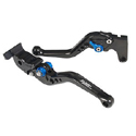 Pazzo Racing Adjustable SHORT Brake & SHORT Clutch Lever Set