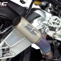 15-16 BMW S1000RR SC-Project CR-T Silencer w/Titanium Link Pipe