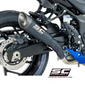 17-18 Suzuki GSXS 750 SC-Project S1 Silencer Black Edition