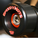 Speedymoto Ducati 1098/1198/Streetfighter HDPE Rear Axle Sliders