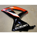 08-10 Suzuki GSXR 600/750 Used OEM Left Fairing Orange
