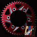 Vortex Rear Sprocket Suzuki 520 - 44T Red fits Suzuki